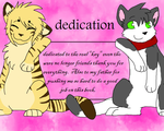 childrens book dedication page by FrostWarden