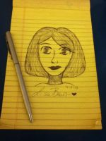 bored drawing 4-5-13 by lisabean