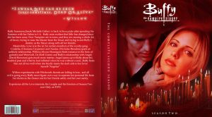 Buffy DVD New Packaging Design. Seasons 2. by Toblerone22