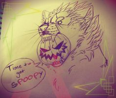 Time to get Spoopy!! by FantwineTheDemon