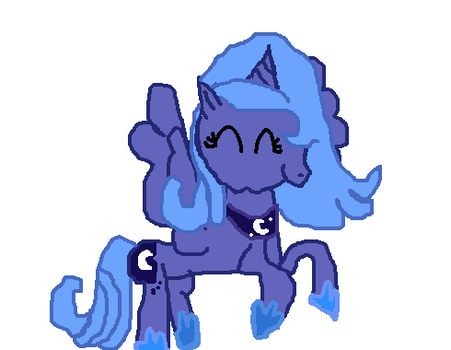 Princess Luna Draw by RainbowDash22100