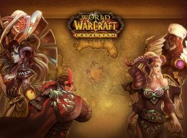 wow fan art page 4 by Angju