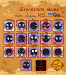 PMDO Arcana Expression Meme by FissionBase