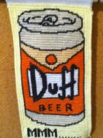 Duff Beer by Stitches-and-Beer