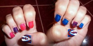 Warblerish nail style :) by gabach