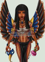 Egyptian.Beauty by Hatter2theHare