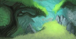 Color Environment Sketch by one2hit
