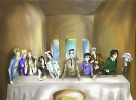 J. Michael Tatum's Last Supper by UbiquitousCreator