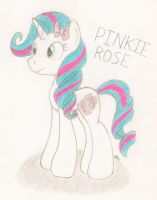 Pinkie Rose (Brony Voice Actress) by BrogarArts