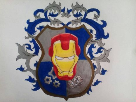 shield Ironman by Raziel993