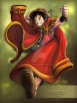 One Piece - The King Luffy by Raftand
