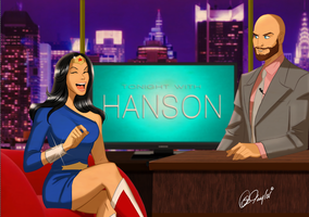 Wonder Woman On HANSON Chat Show by DESPOP