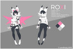 Roxi Reference Sheet by cornfrosty