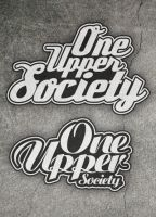 ONE UPPER SOCIETY logotypes by adiosta