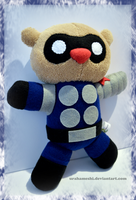 Bucky Bear Winter Soldier Uniform by UraHameshi