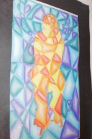 Cubism Self Portrait project by thesleepydrummer