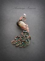 brooch firebird by nastya-iv83