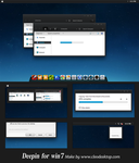 Deepin  for Windows 7 by Cleodesktop