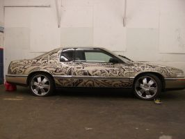 Sharpie Cadillac by PinstripeChris