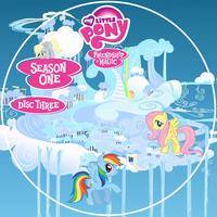 Friendship is Magic S1 Disc 3 DVD Label by Loaded--Dice