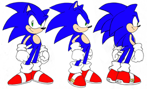 Sonic Sheet by CCN-Sally-Acorn