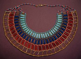 Egyptian Collar by HeatherD