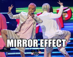The BangLo Mirror Effect by xShionRenny