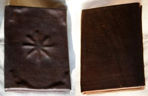 Leather Bound Book - Compass by Avanger