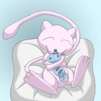 mew being adorable by theslowestking