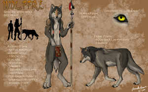 Wolffire character sheet by sugarpoultry