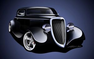 1934 Ford Coupe by dazza-mate