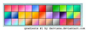 Gradients 01 by darviana