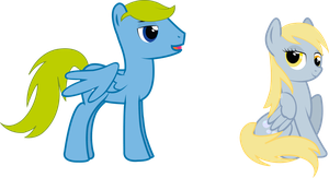 Comission: Laser Reflex with Derpy Hooves by Spectty