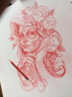 Tattoo sketch by Xenija88
