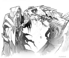 How to train your undead Draco by el-grimlock