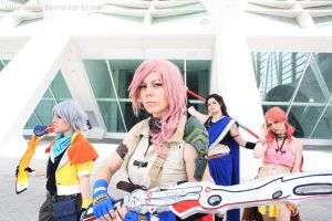 Final Fantasy XIII by LauzLanille