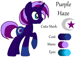 MLP:Purple Haze Profile by kiananuva12