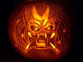 Predator Pumpkin by YXZY