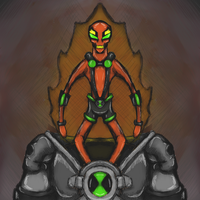 Ben 10 UA: NRG  2013 by dragonfire53511
