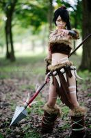 Nidalee From League of Legends Cosplay by Akira0617