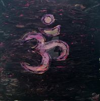 om acrylic by mel-an-choly