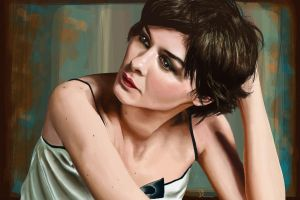 Audrey Tautou by Shucolat