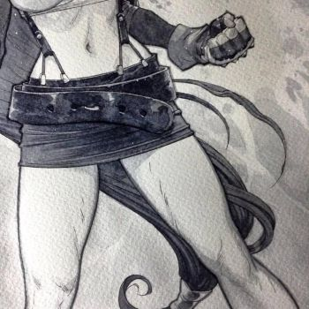 WIP - Tifa Final Fantasy7 Detail by rogercruz