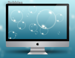 Bubbles Wallpaper by Vincee095