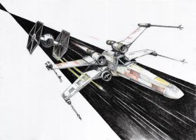 X-wing by micorl