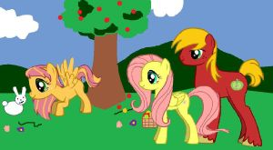 Big Mac and Flutters Family by MissSindy