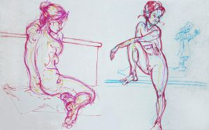 Life drawings - November 2012 by Gizmoatwork