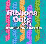 Ribbons Dots by Loreenitta