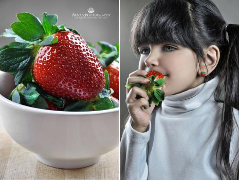 I LOVE Strawberries by New-Afnan