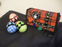 Amu's Egg Pouch - and eggs by Wing2x1